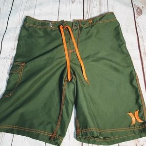 HURLEY MENS BOARD SHORTS SIZE 32